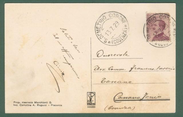 Calabria. S.DEMETRIO CORONE, Cosenza. Collegio italo-albanese.