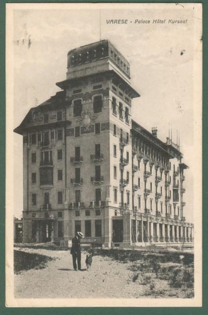 Lombardia. VARESE. Palace Hotel Kursaal. Cartolina d'epoca viaggiata nel 1929.