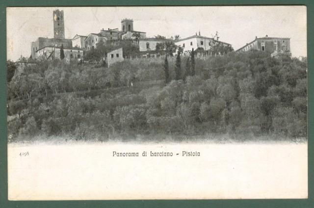 Toscana. LARCIANO, Pistoia. Panorama. Cartolina d'epoca viaggiata nel 1911