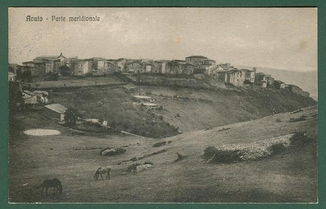 Lazio. ACUTO, Roma. Lato meridionale. Cartolina d'epoca viaggiata nel 1925