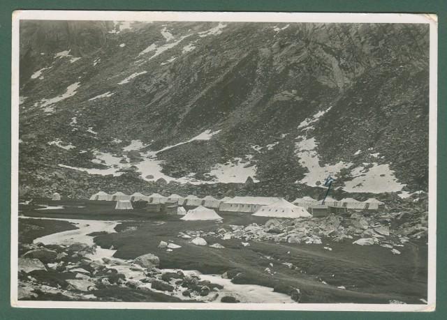 Lombardia. VALSAVIORE, Brescia. XV Campeggio del Touring Club Italiano in Val Salarno. Cartolina d'epoca viaggiata nel 1936