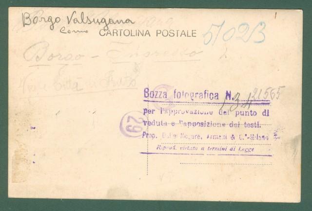 Lombardia. BORGO VALSUGANA, Como. Bozza fotografica di cartolina. Anni '30