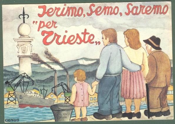 TRIESTE. Serimo, Semo, Saremo per Trieste