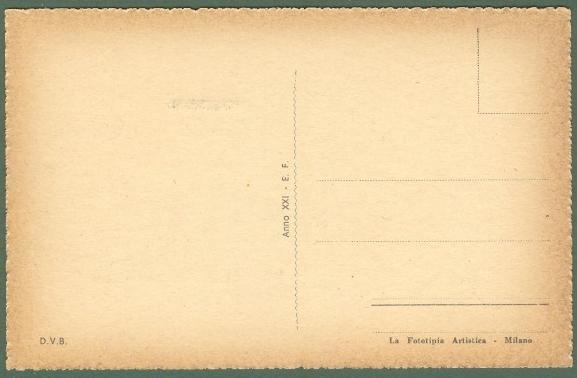 Emilia Romagna. BORGO PANIGALE, Bologna. Cartolina d'epoca non viaggiata, circa 1943