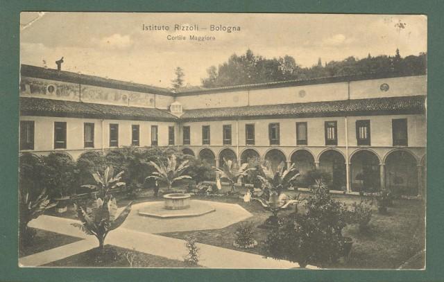 Emilia Romagna. BOLOGNA. Istituto Rizzoli. Cartolina d'epoca viaggiata nel 1916