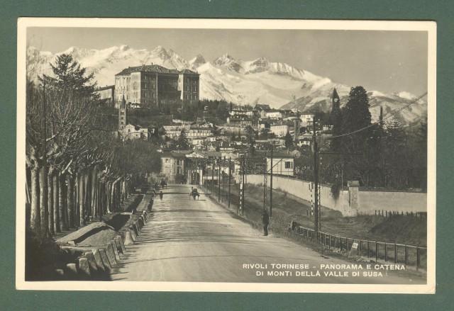 Piemonte. RIVOLI TORINESE, Torino. Cartolina d'epoca viaggiata, circa 1930.