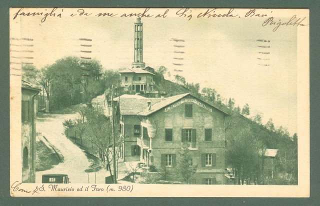 Lombardia. S. MAURIZIO, Como. Cartolina d'epoca viaggiata nel 1935.