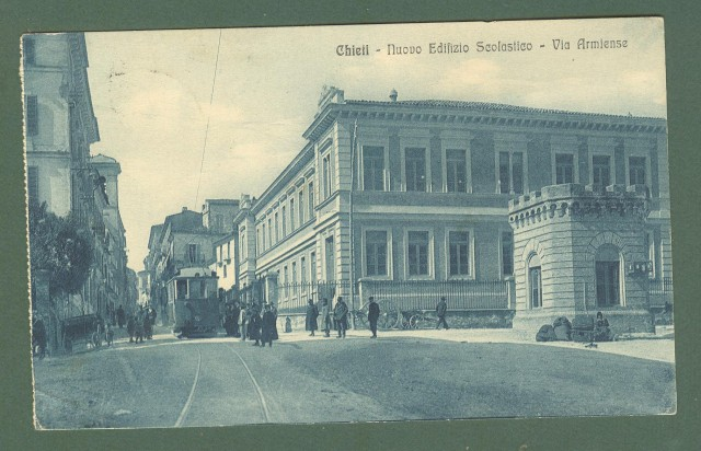Abruzzo. CHIETI. Via Armiense. Cartolina d'epoca viaggiata nel 1916.
