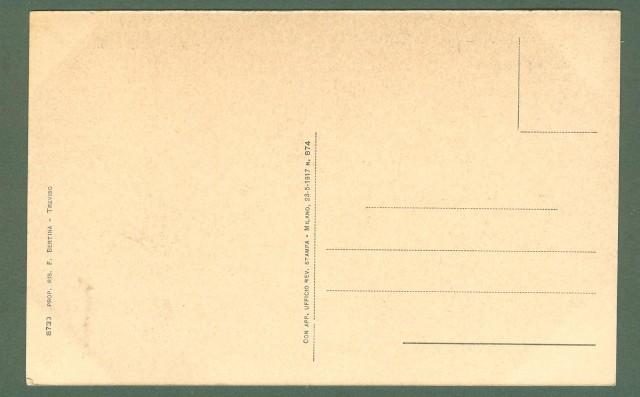 Veneto. TREVISO. Ponte S. Martino. Cartolina d'epoca non viaggiata, circa 1920.