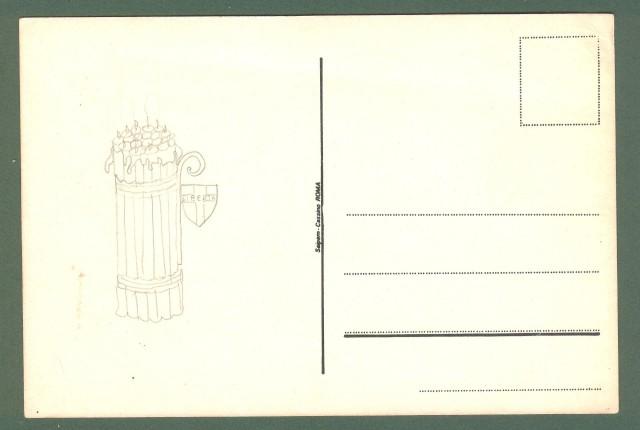 DESTRA NAZIONALE - M.S.I. .Può accadere anche a te! Cartolina d'epoca non viaggiata, anni 1970.