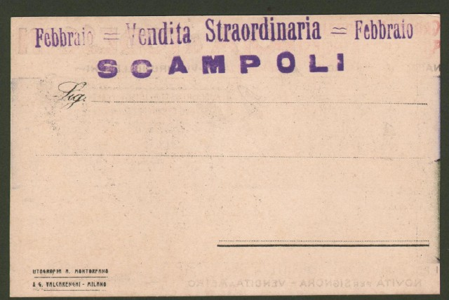 STOLTZ. GRANDI MAGAZZINI POLA & TODESCAN di Firenze.