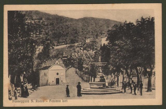 Lazio. FONTANA LIRI, Frosinone. Passeggiata S. Rocco.