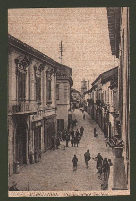 Campania. MARCIANISE, Caserta. Via Domenico Santoro.