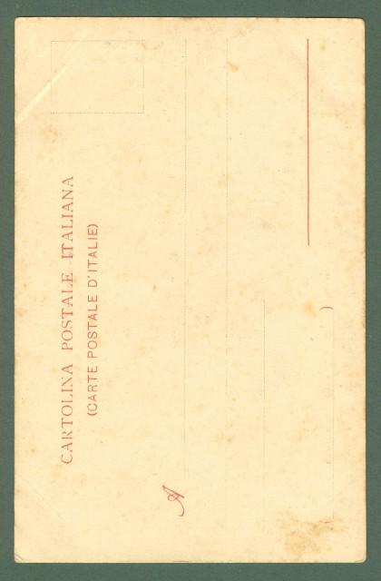 Toscana. CERTALDO, Firenze. Loggiato del Palazzo Pretorio. Cartolina d'epoca non viaggiata, primi 1900.