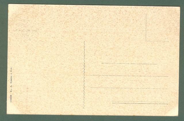Toscana. RADDA IN CHIANTI, Siena. Panorama lato Sud. Cartolina d'epoca non viaggiata, circa 1925.