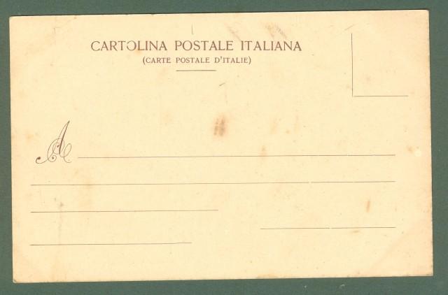 Toscana. BARGA, Lucca. Porta Macchiaia. Cartolina d'epoca viaggiata, primi 1900.