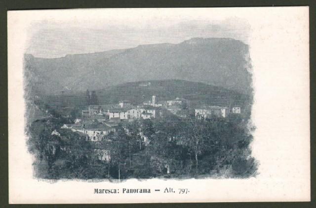 Toscana. MARESCA (Pistoia). Panorama.