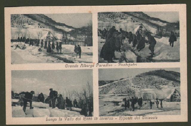 Toscana. PONTEPETRI, Valle del Reno, Pistoia. Cartolina d'epoca non viaggiata, circa 1930.