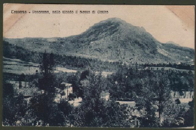 Toscana. TRAVERSA, Firenze. Panorama. Cartolina d'epoca viaggiata nel 1930.