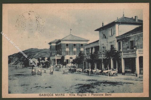 Marche. GABICCE MARE, Pesaro. Villa Regina - Pensione Berti.