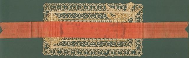 COMPOSIZIONE IN CARTA, fine 1800. Misura cm 15,5x8,5