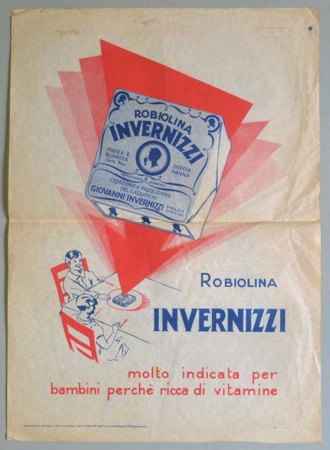 MANIFESTO, Robiolina Invernizzi. Datato 1932.