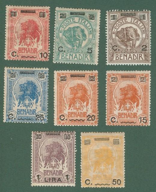 Colonie. SOMALA ITALIANA. Anno 1826.