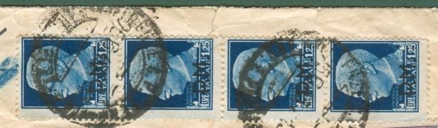 Storia Postale Luogotenenza. ESPRESSO 25.06.1945 da Firenze a Venezia.