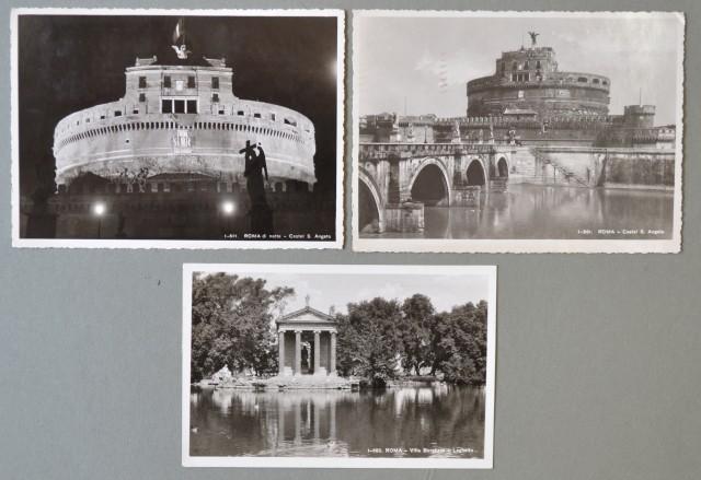 VATICANO. Tre cartoline del 1946/48 affrancate con valori della serie Concilio di Trento.