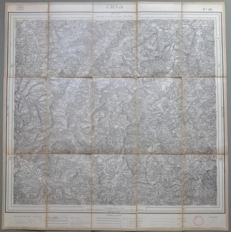 Cartina Militare Piemonte.Piemonte Cuneo Ceva Foglio 81 Dell Istituto Geografico Militare