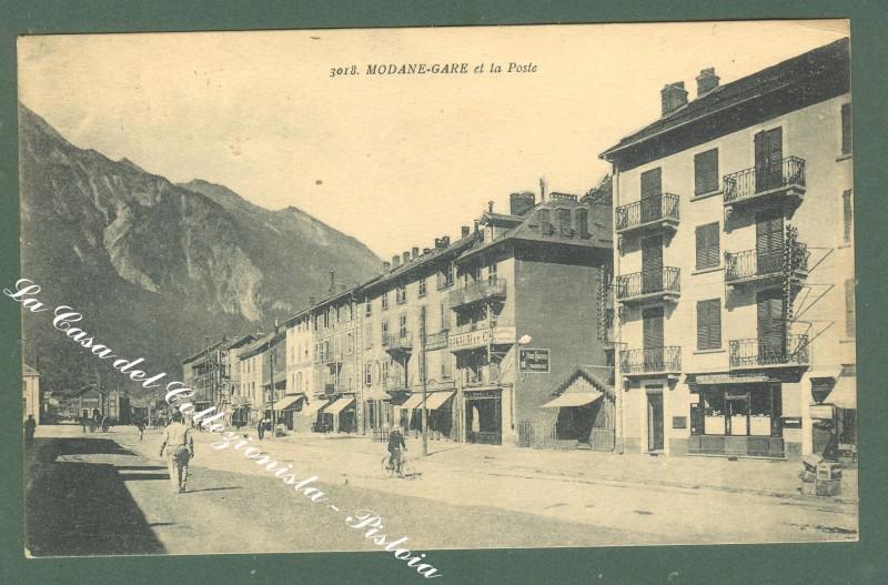 France, Rhone, Alpes, Savoie. MODANE. Cartolina d'epoca. Anno 1925.