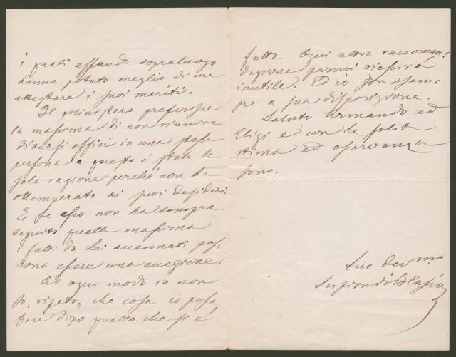 DI BLASIO SALVATORE (Casa Calenda, Campobasso 1834 - 1901). Uomo politico italiano.