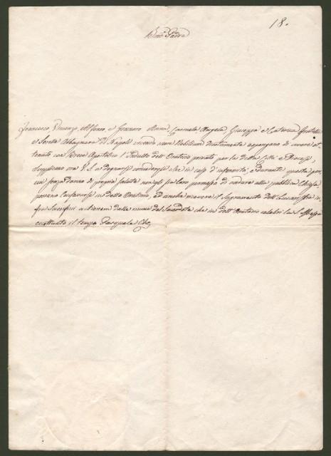 FERRETTI GABRIELE (Ancona 1795 - Roma 1860). Vescovo di Montefiascone e Arcivescovo di Fermo (1837), Legato di Urbino e Pesaro (1846) e Segretario di Stato di Pio IX da 17 luglio 1847 al 1 febbraio 1848.