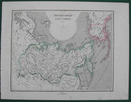 Impero Russo d'Asia e d'America.