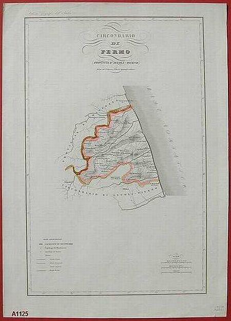 Circondario di Fermo. Provincia d'Ascoli Piceno.