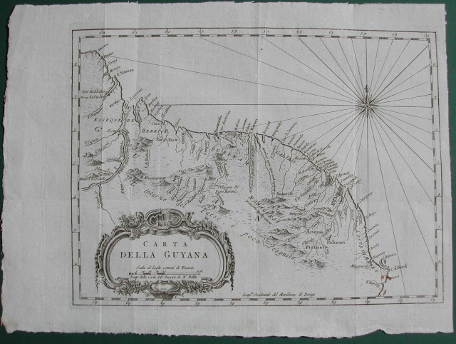 Carta della Guiana