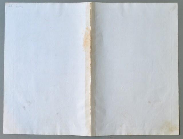 VENETO '– PADOVA. Carta geografica del Territorio Padovano. Bella carta in foglio doppio comprendente pure parte del vicentino, trevigiano, veneziano e del polesine.