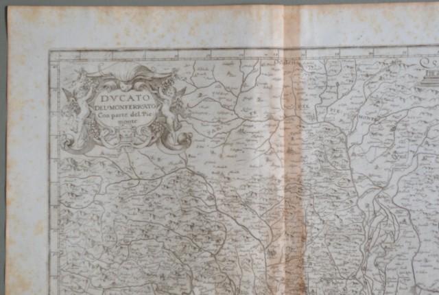 PIEMONTE.  Anno 1630. Ducato del Monferrato. Con parte del Piemonte.