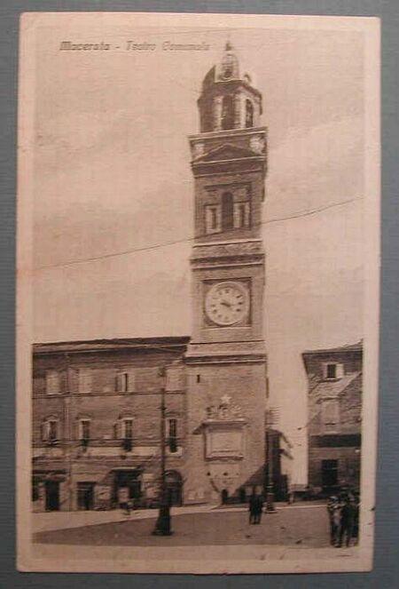 (Marche) Macerata. Teatro Comunale