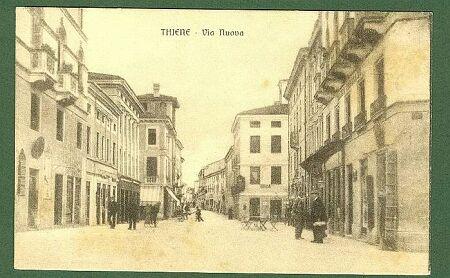 (Vicenza) THIENE - Via Nuova.