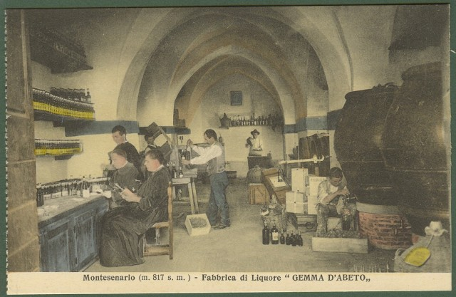 (Firenze) MONTESENARIO. Fabbrica di liquore