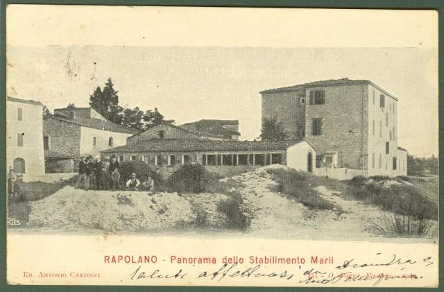 RAPOLANO (Siena). Panorama dello Stabilimento Marii.