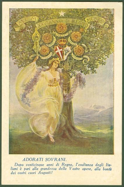 1900 - GIUBILEO REALE - 1925 Ai nostri adorati Sovrani