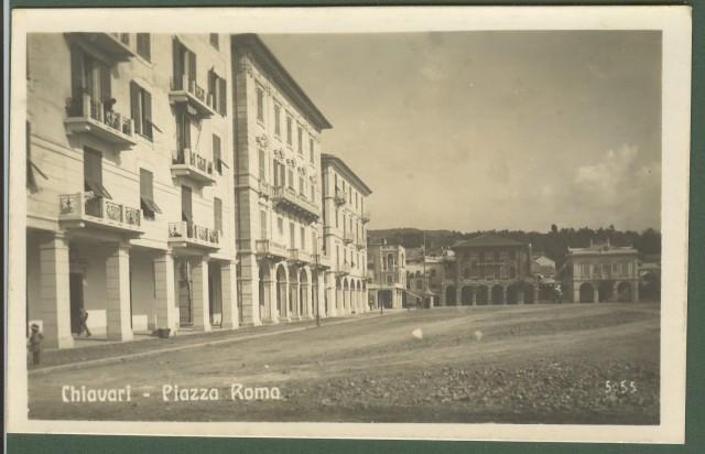 CHIAVARI (Genova). Piazza Roma.