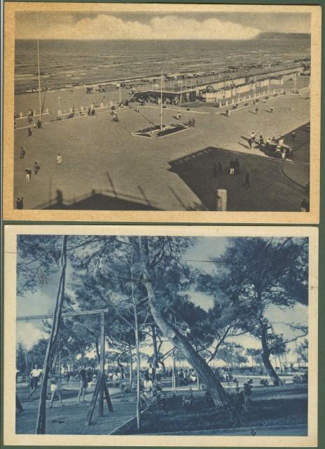 RICCIONE (Rimini). Due diverse cartoline