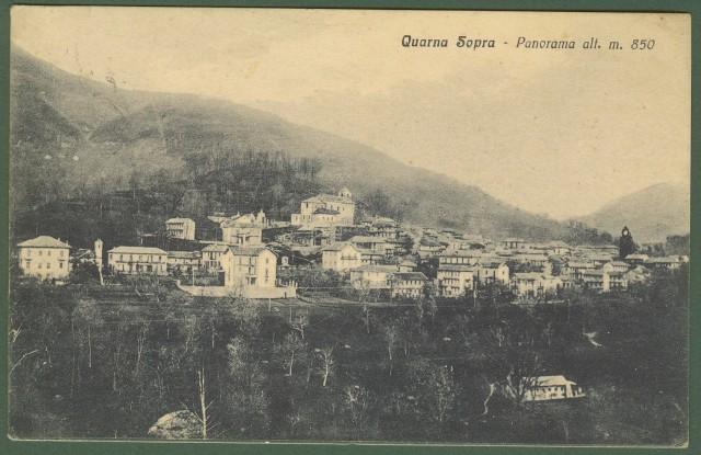 QUARNA SOPRA (Novara). Panorama.