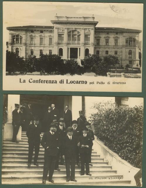 CONFERENZA DI LOCARNO del 1925.