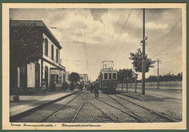 TORRE ANNUNZIATA (Napoli). Interno stazione ferroviaria.