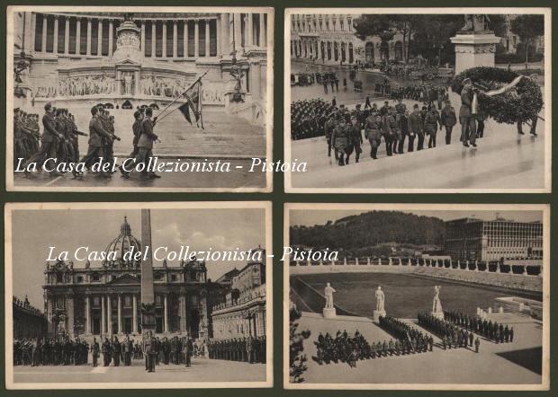 FASCISMO. La compagnia di Levente, della gioventpremilitare ungherese, a Roma nel 15-16 Ottobre 1940