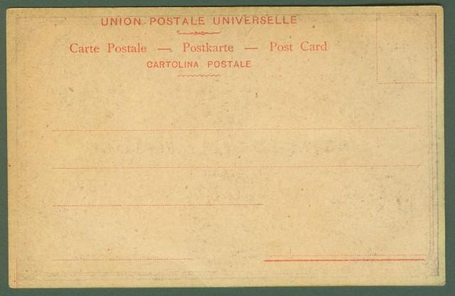 LINGUAGGIO DELLE PERSIANE. Cartolina d'epoca a colori.